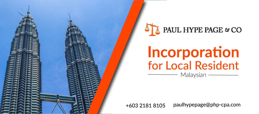 Incorporation for Malaysian Resident