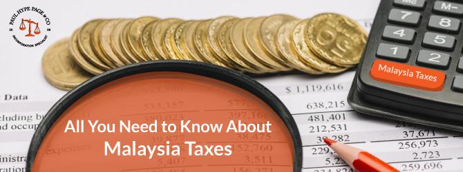 Malaysia Taxes