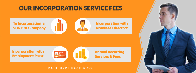 Fees for Form a New Company