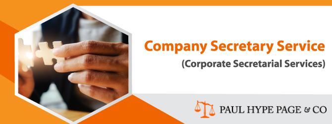 Company Secretary Service (Corporate Secretarial Services) PHP