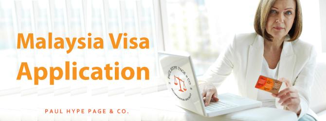 Visa Application in MY