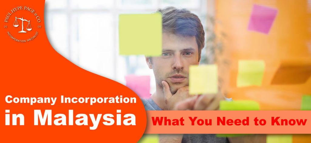 Company Incorporation in Malaysia