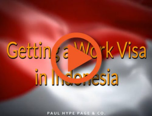 Video Guide : Getting a Work Visa in Indonesia