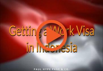 Work Visa in Indonesia