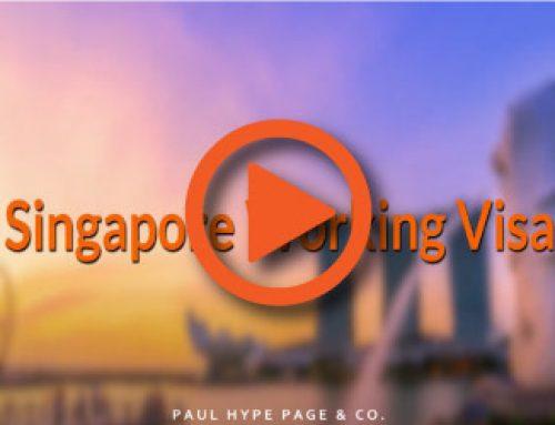 Video Guide : Singapore Working Visa Guide