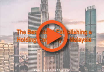 Benefits of Establishing a Holding Company in Malaysia